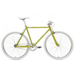 Bicicleta Chill Bike Base Green Silver