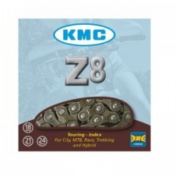 Cadena bicicleta KMC Z8 marrón 7/8v